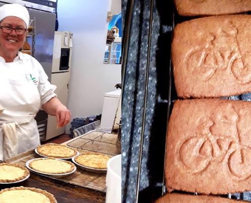 Kathy baking